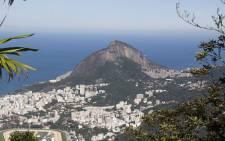 An overhead view of Rio de Janeiro. Picture: Christa Eybers/EWN.