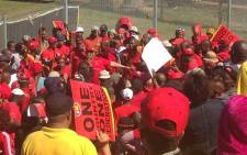 FILE: Congress of South African Trade Unions (Cosatu)'s May Day rally underway. Picture: Govan Whittles/EWN.