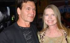 Dirty Dancing star Patrick Swayze with wife Lisa. Picture: Gallo Images/WireImage