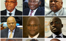 South African Cabinet Ministers collage