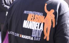Schools across the country will sing happy birthday to Madiba at 8am on Mandela Day. Picture: EWN