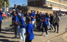 """DA supporters at the launch of the DA's """"jobs act"""" on Freedom Day, 27 April 2019. Picture: Ahmed Kajee/EWN"""