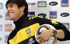 Brazilian attacking midfielder Kaka. Picture: AFP