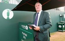 Scottish golf commentator Ivor Robson. Picture: Official Open Championship Facebook Page.