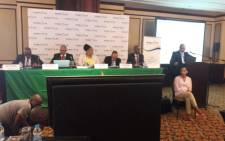 The National Energy Regulator of South Africa 0n 14 January 2019 held public hearings on Eskom's request for another electricity price hike. Picture: @NERSA_ZA/Twitter