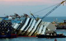 FILE: A convoy of 14 vessels will tow the vessel to a port near Genoa in northern Italy. Picture: AFP.