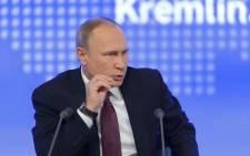 FILE: Russian President Vladimir Putin. Picture: 123rf.com