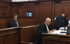 Henri van Breda seen at the Western Cape High Court during his triple-murder trial. Picture: Giovanna Gerbi/EWN