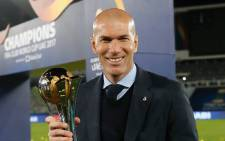 FILE: Real Madrid coach Zinedine Zidane. Picture: www.realmadrid.com.