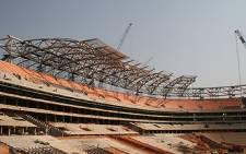Stadium upgrade at Soccer City in Soweto. Picture: Taurai Maduna/Eyewitness News