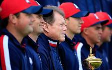 USA Ryder Cup team, with captain Tom Watson in the middle. Picture: Facebook.