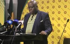 ANCYL Secretary General Njabulo Nzuza. Picture: EWN
