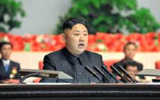North Korean leader Kim Jong Un. Picture: AFP.