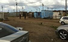 Residents from Sweet Home Farm informal settlement are demanding houses and improved service delivery. Picture: Malungelo Booi/EWN