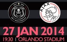 Orlando Pirates host Ajax Cape Town at the Orlando Stadium in a PSL clash on Monday night. Picture: Facebook.com.