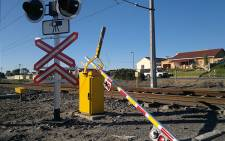 A broken boom at White Road Level Crossing in Retreat. Picture: Supplied
