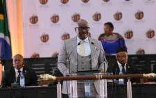Gauteng Premier David Makhura delivers his last State of the Province Address at Alberton Civic Centre, Ekurhuleni, on 18 February 2019. Picture: @GautengProvince/Twitter