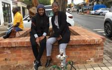 Phumzile Mthimkhulu (19) and Nobesuthu Cele (28) pictured in Soweto. The pair decided against voting and opted to spend some time at a hookah lounge on Vilakazi Street on 8 May 2019. Picture: EWN