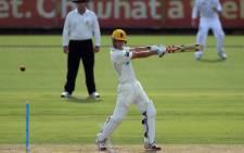 Western Australian Chairman's XI batsman Chris Lynn (C). Picture: AFP.