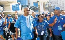 DA Eastern Cape leader Nqaba Bhanga (foreground, left). Picture: Democratic Alliance/Facebook.com