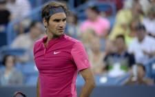 FILE: Roger Federer. Picture: Twitter/@CincyTennis