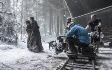 Filming for season six of 'Game of Thrones'. Picture: M-Net.