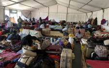 Foreign nationals living at a government camp in Bellville have yet again raised concerns over poor living conditions. Picture: Kaylynn Palm/EWN