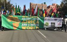 Africa day parade  in the streets of JoburgPicture: Kgothatso Mogale/EWN