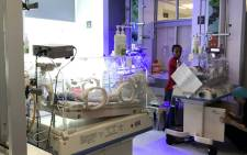 The new high-tech neonatal unit  at Groote Schuur Hospital. Picture: Kevin Brandt/EWN