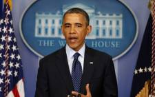 FILE: Barack Obama said he had authorised the operation in Libya to arrest Ahmed Abu Khatallah. Picture: AFP.