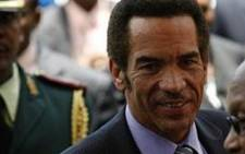 Lieutenant General Seretse Khama Ian Khama, President of Botswana. Picture: AFP