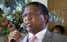 Sports Minister Fikile Mbalula says Bafana Bafana needs to go back to the drawing board. Picture: EWN Sport.