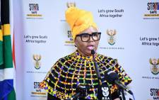 FILE: Social Development Minister Lindiwe Zulu. Picture: @The_DSD/Twitter