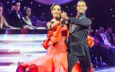 Leigh-Anne Williams and dance partner Johannes Radebe on 'Strictly Come Dancing'. Picture: Mariska van den Brink.