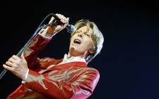 British singer David Bowie performs during a concert at the Zenith in Paris in 2002. Picture: AFP.