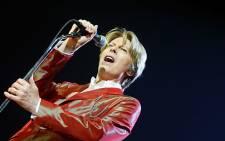 David Bowie. Picture: AFP.