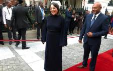 Public Works and Infrastructure Development Minister Patricia de Lille. Picture: Cindy Archillies/EWN