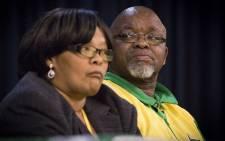 ANC Secretary General Gwede Mantashe attends a campaigning event in Allanridge in Uitenhage, Port Elizabeth, on 24 June 2016. Picture: Aletta Harrison/EWN