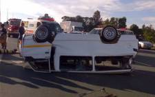 File Picture: Taxi accident.