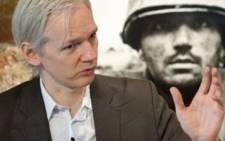 Australian founder of whistleblowing website, 'WikiLeaks', Julian Assange