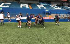 Springbok Women in training on 9 November 2018. Picture: @WomenBoks/Twitter.