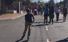 The streets of Langa were filled with hundreds of people for the Open Streets initiative on 29 March 2015. Picture: Monique Mortlock/EWN