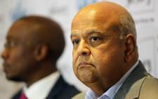 Pravin Gordhan was reappointed Finance Minister by President Jacob Zuma on 13 December 2015. Picture: Reinart Toerien/EWN.