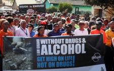 FILE: A prayer March in Eldorado Park against drug abuse. Picture: EWN.