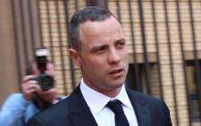 Oscar Pistorius leaves the North Gauteng High Court on 5 May. Picture: Christa Eybers/EWN