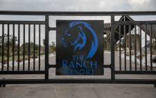 The gate leading to the entrance of the Ranch Resort in Polokwane, Limpopo. Picture: Abigail Javier/EWN