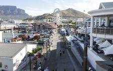 FILE: he Victoria and Albert Waterfront Shopping Centre in Cape Town. Picture: Thomas Holder/EWN.