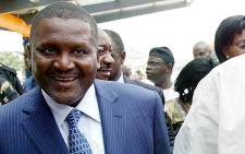 Africa's richest man, Aliko Dangote