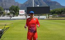 England cricketer Dawid Malan during a Cape Town Blitz training session at Newlands in Cape Town. Picture: @CT_Blitz/Twitter