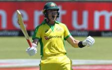 Australia's Marnus Labuschagne scored a century against the Proteas in Potchefstroom on 7 March 2020. Picture: Twitter/@cricketcomau